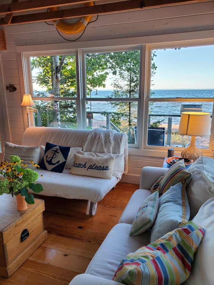 Madeline Island Beach Cottage