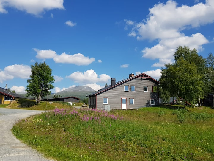 Mountain cottage in scenic Borgafjäll, Sweden