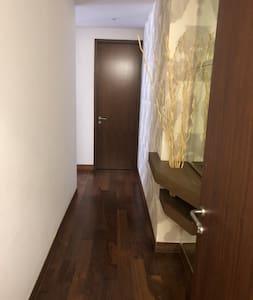 Apartment entrance.