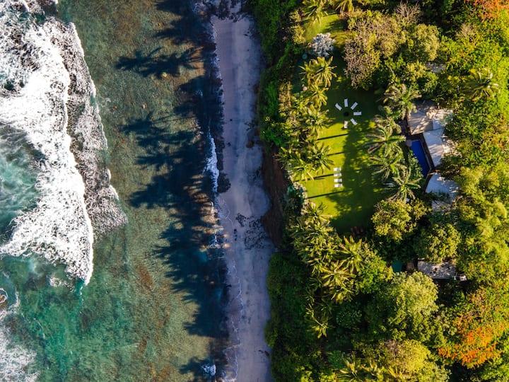 Impressive Oceanfront Villa ~ Playa Junquillal