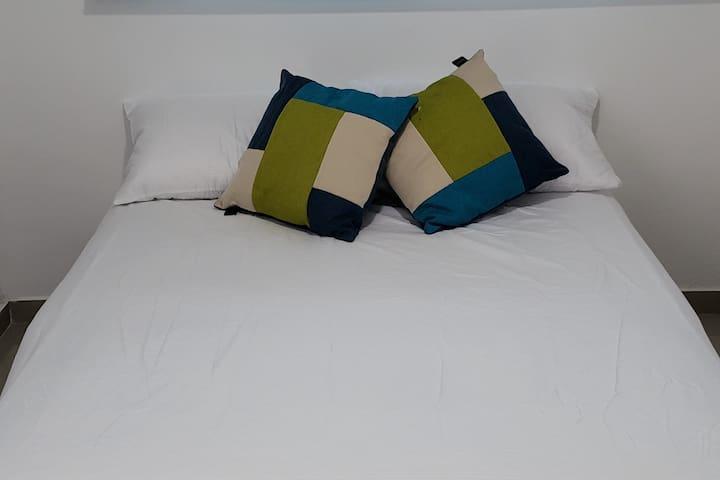 Sofa cama para cómodo descanso , aire acondicionado