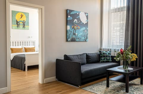 Beautiful apartment in the heart of Kaunas