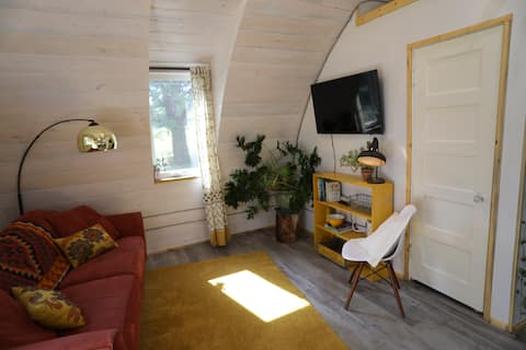 Relaxing Farm Quonset
