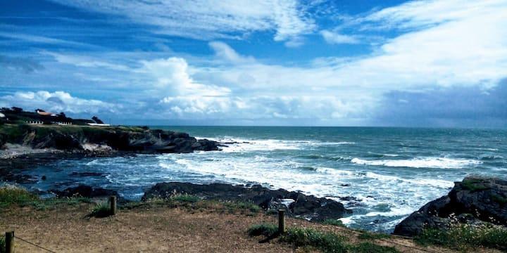 Face a la mer, idéal pour se ressourcer.