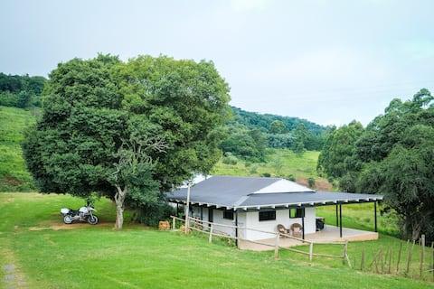 Newstead Farm, historic homestead-Nguni Cottage
