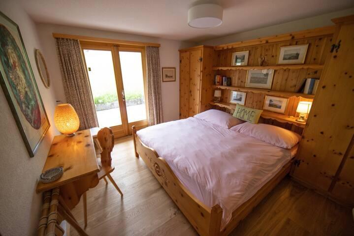 Doppelschlafzimmer Erdgeschoss