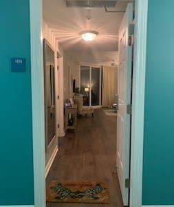 Door into the condo.