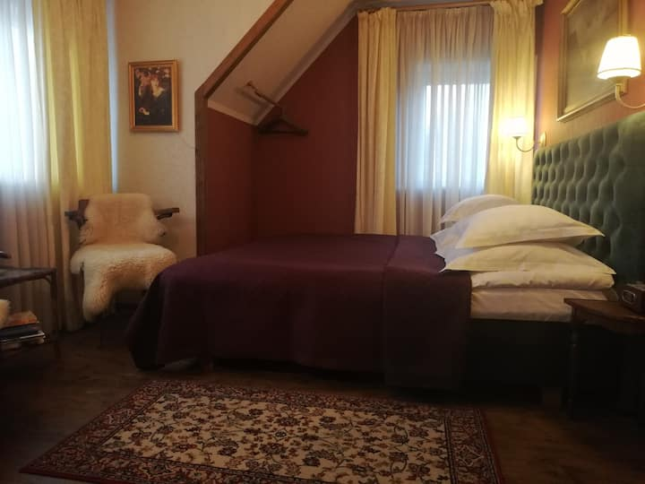 Vinoteegi Residents, Double Room, Garden View