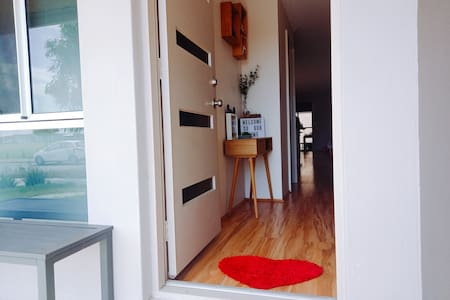 Our entrance is 83 cm/32.6 inches wide, well within the Australian standard.