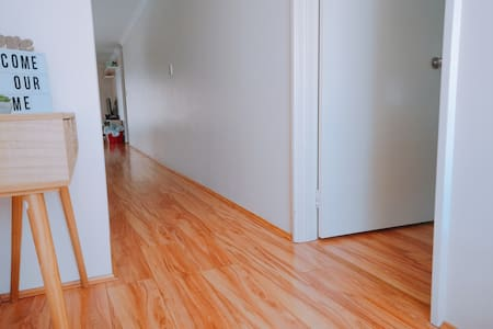 There is adequate turning space to access between room and living area.