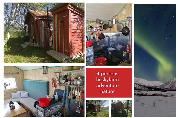 Rustic wilderness hut- Vesterålen / Lofoten