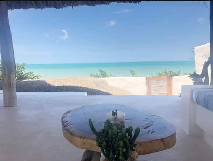 House on the beach near Palomino Adults only