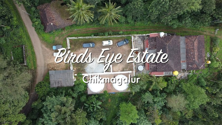 Birds eye-entire home with 360'  magnificent view!
