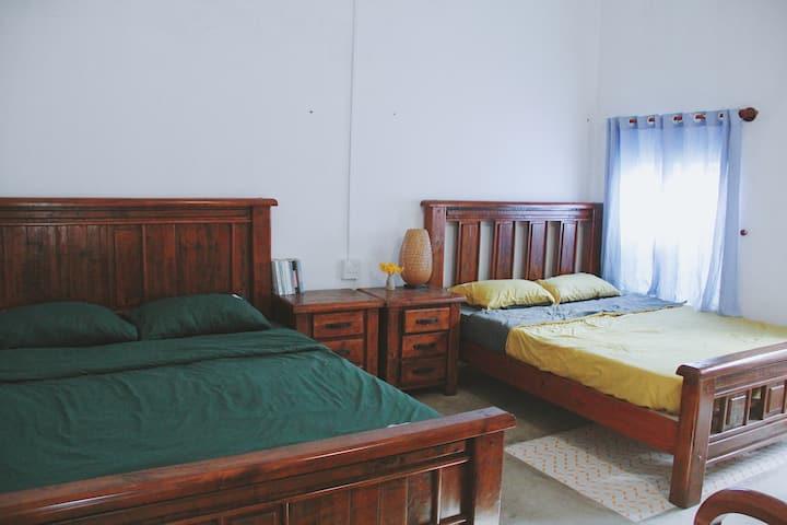 Countryside Homestay - Medium room #3 - 4 people