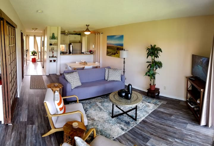 Entire Condo -Spacious 2b/2b full kitchen Waikoloa