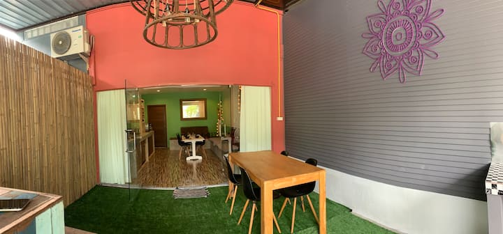 Buddha Cafe's 2 Bedroom apartment Haad Salad Beach