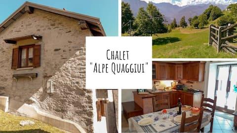 """Chalet """"Alpe Quaggiui"""""""
