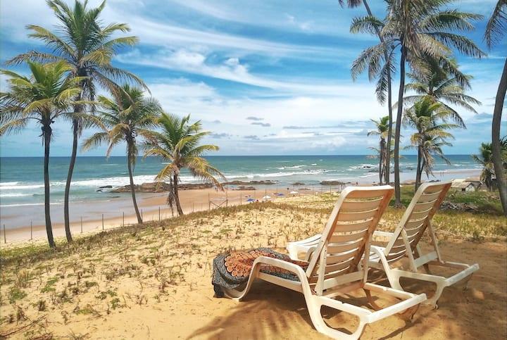 Apartamento na beira da Praia de Santo Antônio (1)