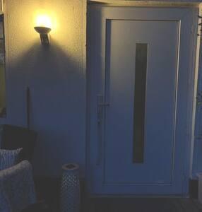 Eingang Cottage