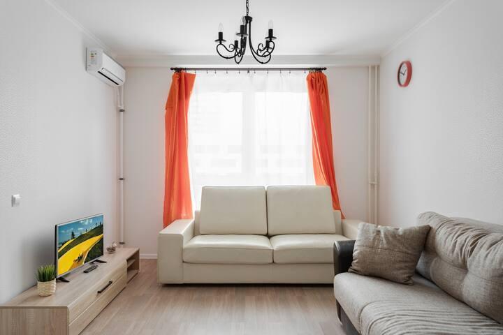 2-ух комнатная квартира в элитном доме