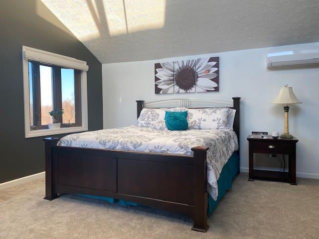Second Level Master Bedroom Suite