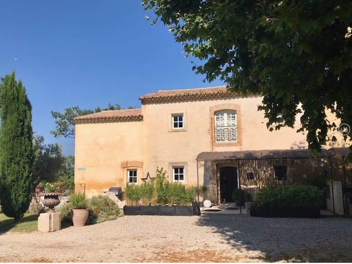 Superbe mas 18ème piscine en Provence Côte d'Azur