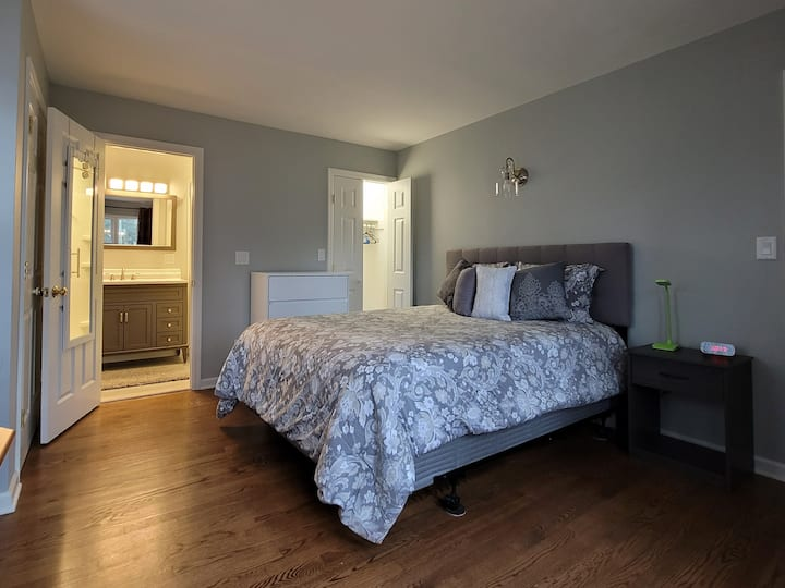 Newly Renovated Bedroom