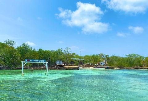 CABAÑA MI REFUGIO,  Isla Tintipan