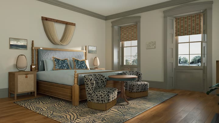 The Gate House - Two Bedroom Queen Suite
