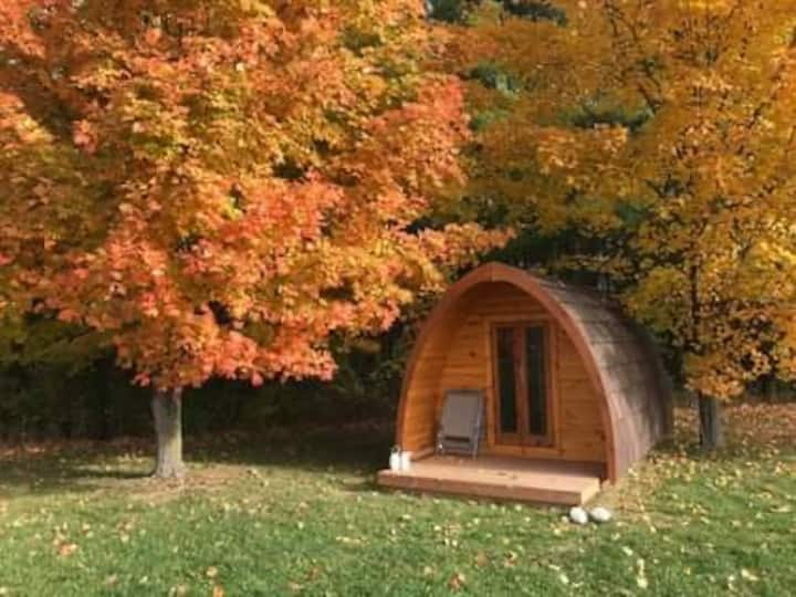 Cozy Camping Pod Farm Stays