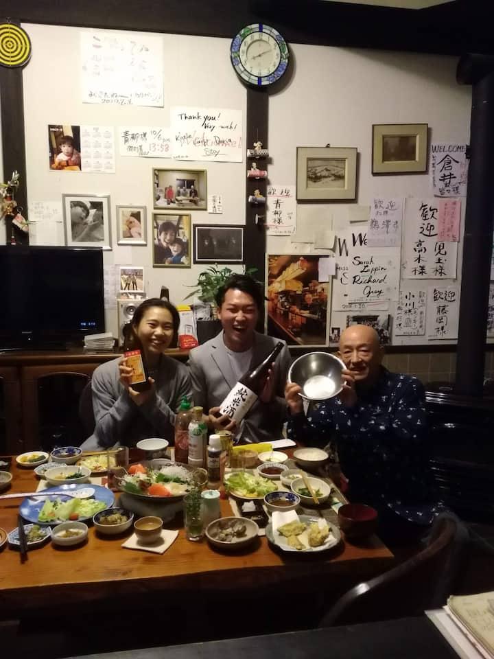 香取神宮里山「幸せの黄色いハンカチ」一日一組限定です!