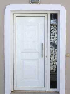 The door outside