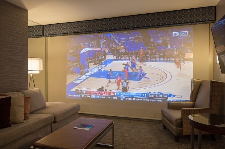 Projection Screen TV | 2 Bedroom Suite | Jacuzzi