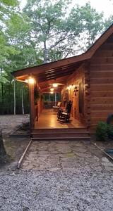 Entrance to cabin