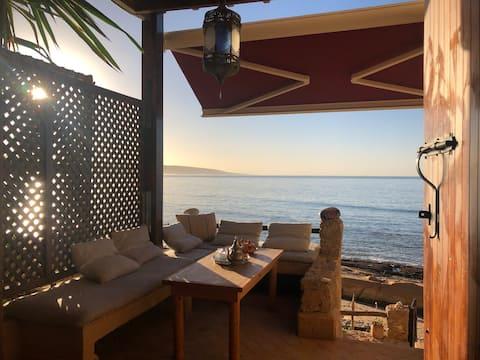 Taghazout/Anchor Point/ vue magnifique et cuisine privée