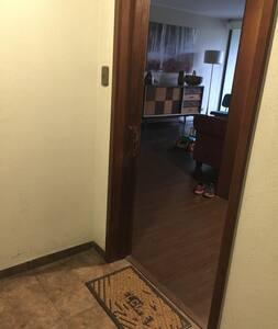 Acceso puerta de entrada departamento