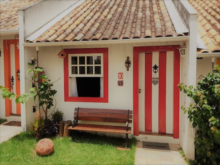 Loft 10 - Espaço para relaxar em Pirenópolis-GO