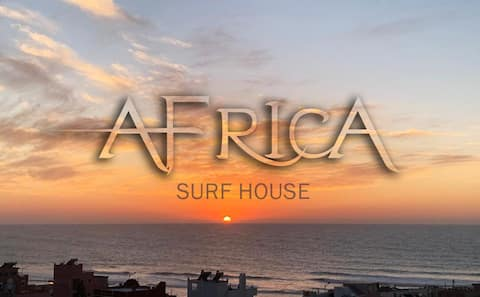 Africa surf house