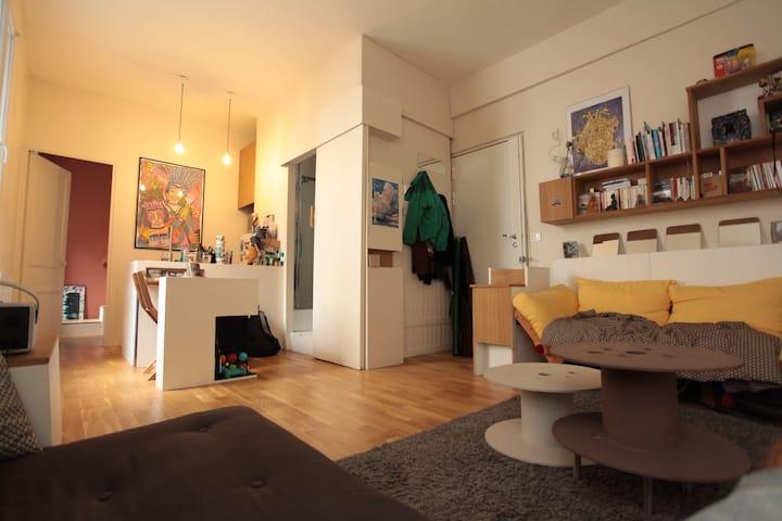 Nice little flat in Montmartre Area