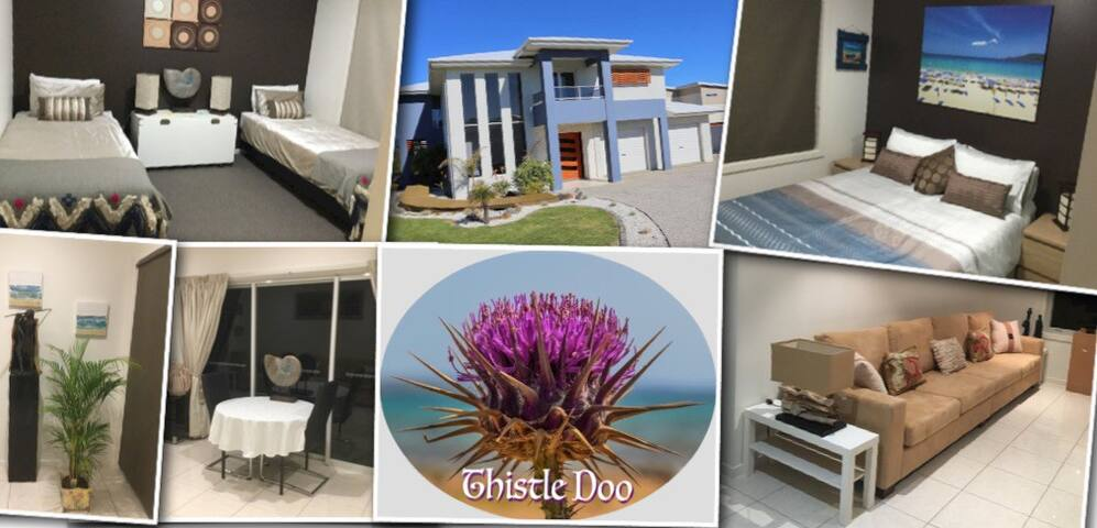 Thistle Doo - Luxury 2 bed Apt. (No Cleaning Fees)