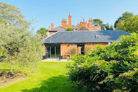 Coach House Studio set in Walled Garden