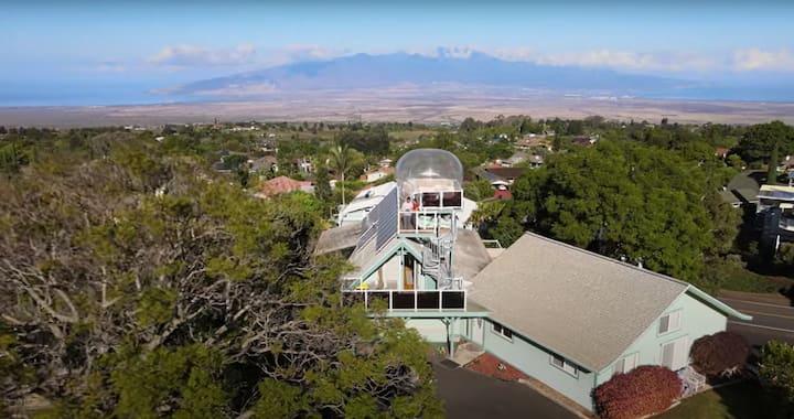 Maui Star Dome - Skylight Loft plus Clear-Top Tent