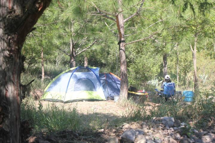 Campamento EL Chabacán, Laguna de Sánchez