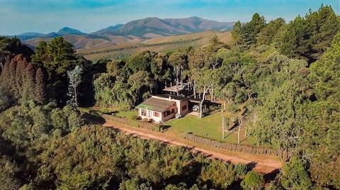 Casa Visual Espetacular - Topo da Serra da Bocaina