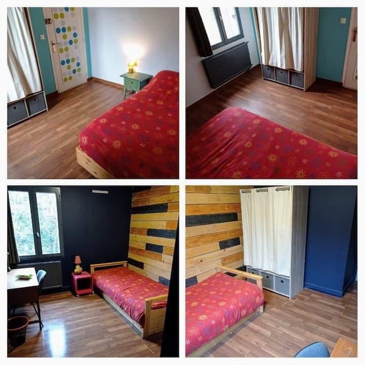 2 chambres dans un T4 à Lanveur
