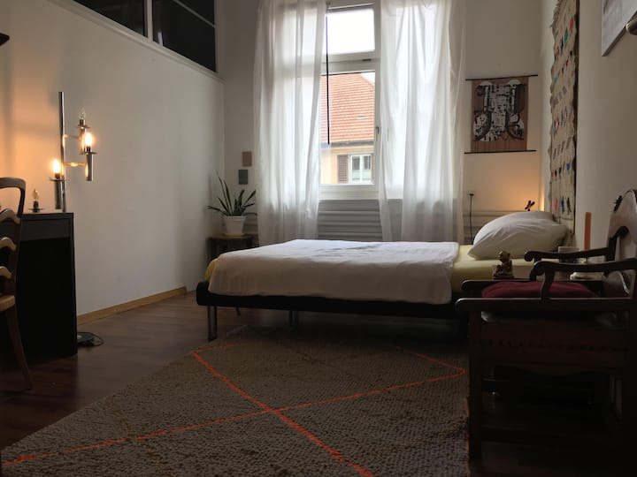 18m2 Privat Room in shared Loft
