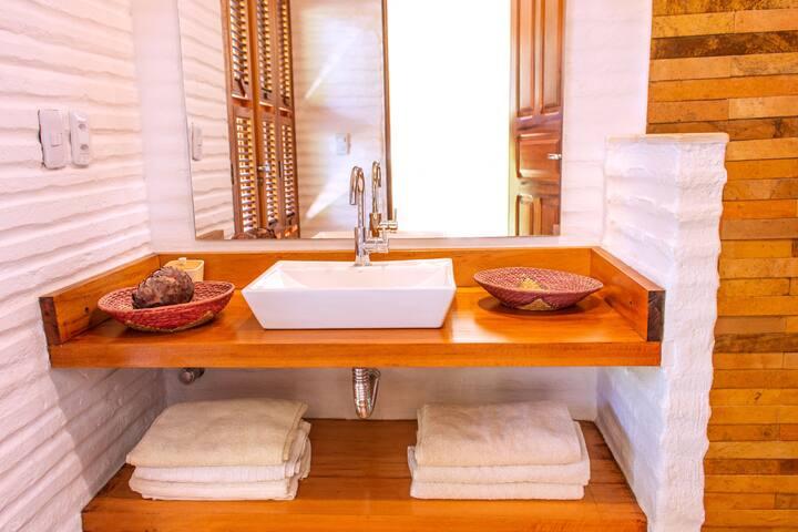 Each of our bedrooms have its own en-suite bathroom