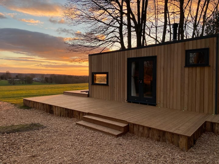 NEW Luxury Remote Kabin + Outdoor Bath!