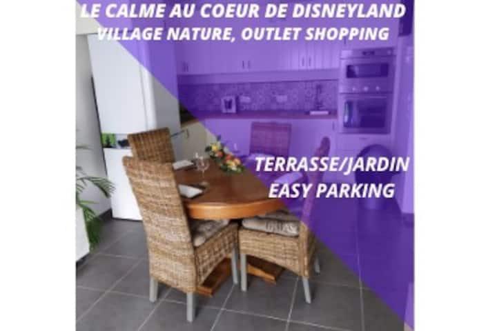 Le Jardin des Pommiers Chessy à Disneyland Paris