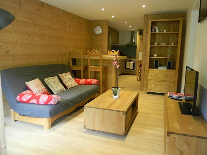 Appartement cosy entièrement rénové